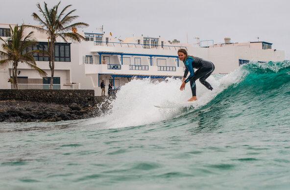 Wellenreiten auf Lanzarote | Photographer Lars Jacobsen