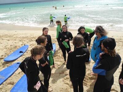 Surf lesson Jandia by Watersports Fuerteventura