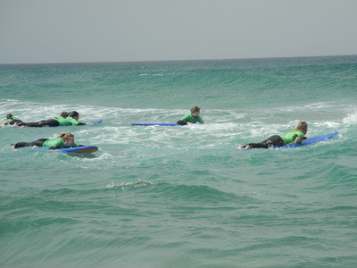 Surfkurse in La Pared mit usnerem Surfcamp