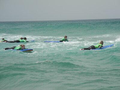 Surfkurse in La Pared mit usnerem Surfcamp