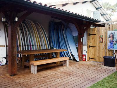 Welcome at the Pura Vida Lodge in Mimizan, France