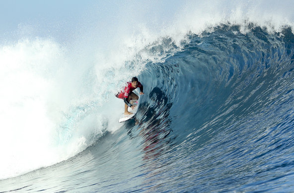 Image: WSL / Cestari | Medina Claims Victory at Fiji Pro in Firing Conditions