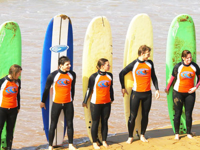 Surfing in Morocco