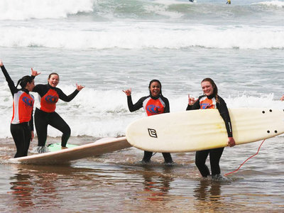 Surf lesson in Morocco