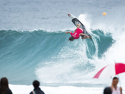 Credit: © WSL / Cestari | Matt Wilkinson (AUS) makes back-to-back Finals at the Quiksilver Pro Gold Coast.