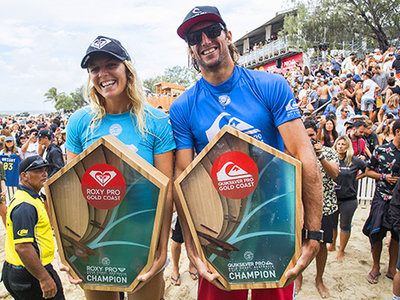 Credit: © WSL / Cestari | Owen Wright and Stephanie Gilmore Win Quiksilver and Roxy Pro Gold Coast 2017