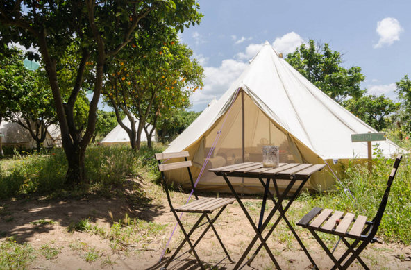 Tiny Whale Luxury Bell Tents Algarve