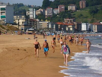 Strand von Zarautz