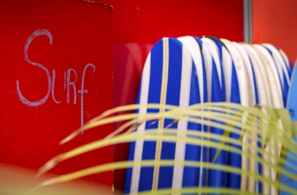 Lufi Surf Camp on Costa da Caparica