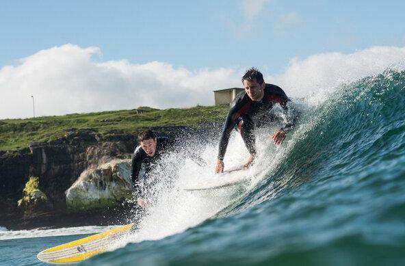 Surfen lernen in Europa an den besten Surfspots für Anfänger