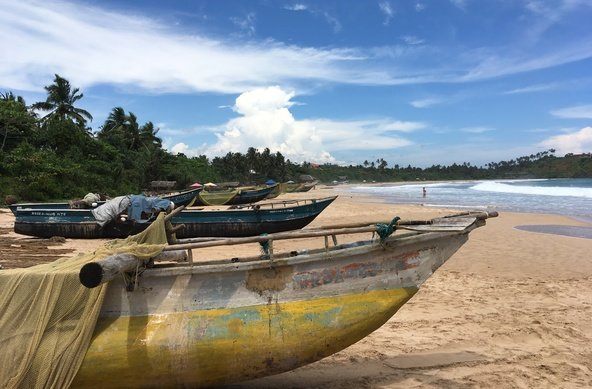 Surfing and traveling in Sri Lanka