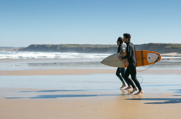 Balili Surf & Yoga retreat in Peniche