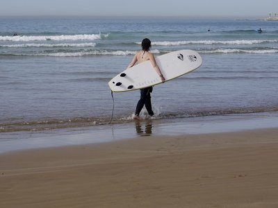 Surfing Taghazout Bay