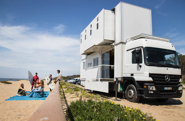 Truck Surf Hotel - Portugal Surf Trips