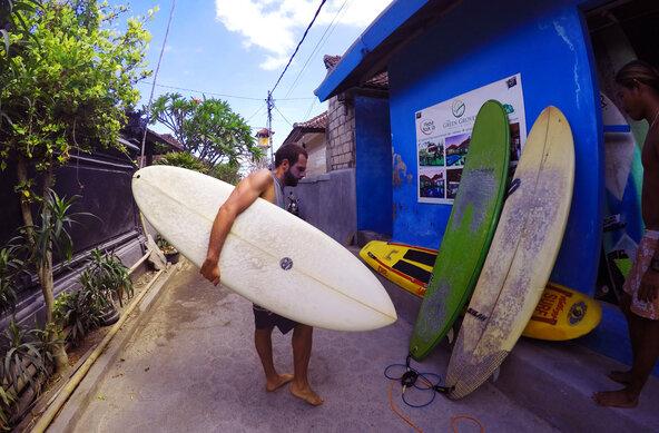 Surf Camp RAMA GARDEN Lembongan