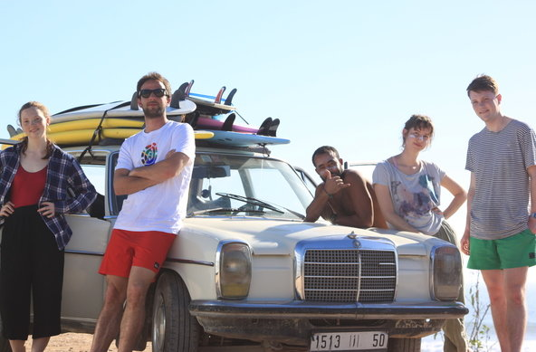 Enjoy a surf holiday with us in Morocco