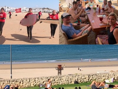 Surf Yoga camp Andalusien